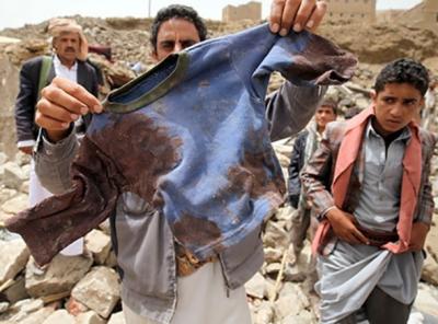 At least 29 children among dozens killed in Yemen air strike