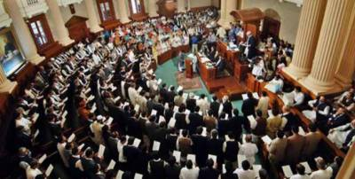 Newly elected MPAs take oath in inaugural Punjab Assembly session