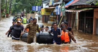 Over 800,000 displaced in deadly Kerala flooding