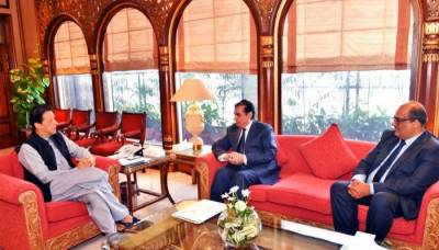 PM Imran assures full support to NAB chief for corruption free Pakistan