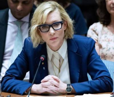 Cate Blanchett urges UN to take notice of atrocities against Rohingya Muslims
