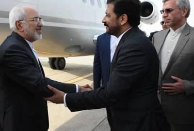 Iranian FM Javad Zarif arrives in Pakistan to meet civil, military leadership