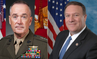 US military chief will accompany Mike Pompeo for Pakistan visit