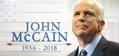 John McCain laid to rest at US Naval Academy next to lifelong friend