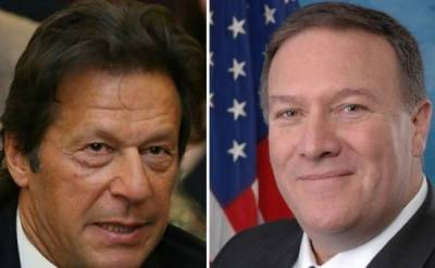 Pompeo, PM Imran discuss 'aid' suspension, Afghan peace