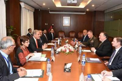 Pompeo, Qureshi discuss Pak-US bilateral ties