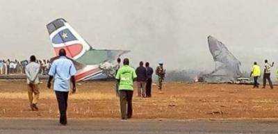 Many 'feared dead' after plane with about 20 on board crashed