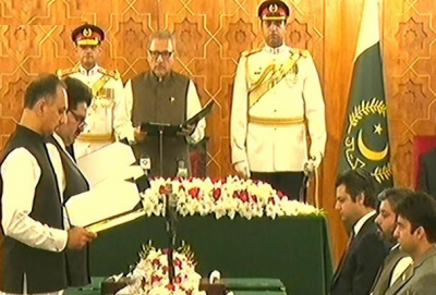 Six new members of federal cabinet take oath