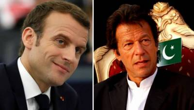 French president Macron phones PM Imran, lauds Pakistan's role in fighting terrorism