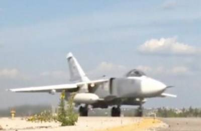 Russian military jet disappears during Israeli strikes on Syria