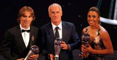 Marta, Modric win Best FIFA player awards