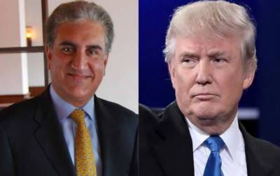 Trump, Qureshi agree on rebuilding Pak-US relations