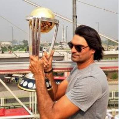 ICC Cricket World Cup trophy arrives in Lahore