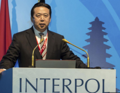 China accuses ex-Interpol chief Hongwei of bribery, other crimes