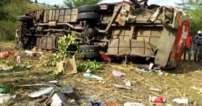 At least 40 killed in Kenya bus accident