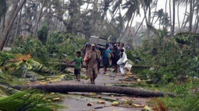 Death toll reaches 57 as cyclone Titli hits India