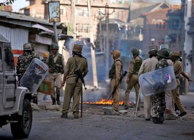 Indian forces martyr four youth in Indian occupied Kashmir