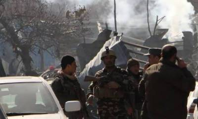 Dozens of causalities as multiple blasts rock Kabul polling centers