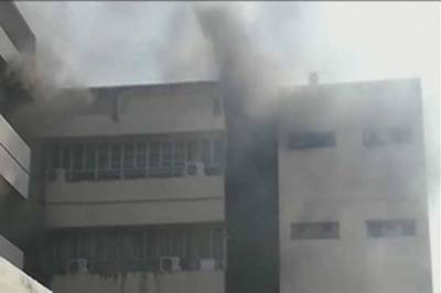 Islamabad: Fire at PID building extinguished