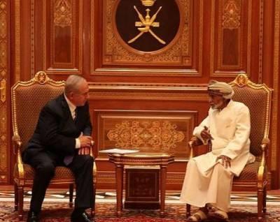 Israel's PM Netanyahu makes secret Oman visit, meets Sultan Qaboos