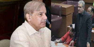 Israeli plane in Pakistan: Shehbaz accepts Qureshi's clarification