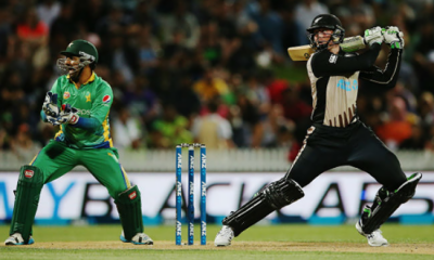 Pakistan beat New Zealand by two runs in first T20