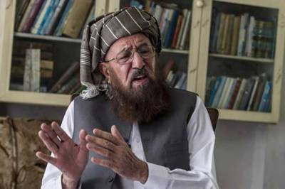 Maulana Samiul Haq's funeral prayer offered in Akora Khattak