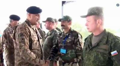 COAS Bajwa inspects Pak-Russia joint training exercise