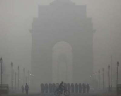 Toxic smog engulfs India's capital again