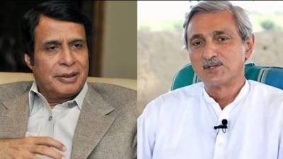 Video: Pervaiz Elahi, federal minister asks Tareen to control 'Punjab Governor'