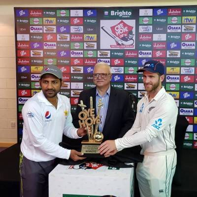 New Zealand win toss, opt to bat against Pakistan