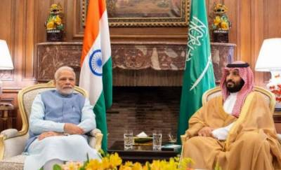Indian PM Modi meets Saudi Crown Prince Salman in Buenos Aires