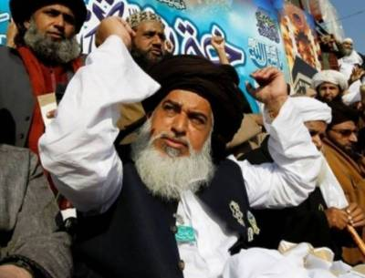TLP's Khadim Rizvi, other leaders charged with treason, terrorism: Fawad