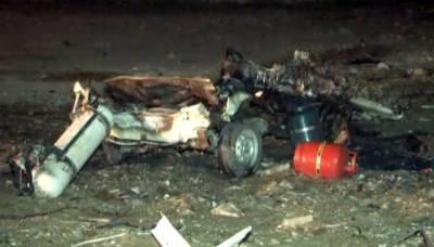 Karachi: Bomb explodes in stolen car in DHA area