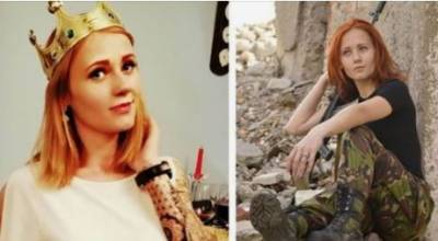 Ukrainian female sniper Olga Shishkina wins beauty contest