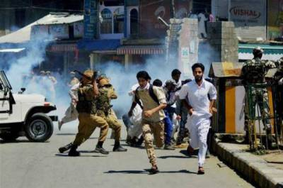 Indian forces martyr 10 youth in IoK