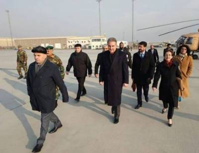 FM Qureshi discusses progress on Afghan peace process in Kabul