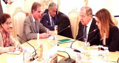 Qureshi, Lavrov discuss Afghan peace and reconciliation process
