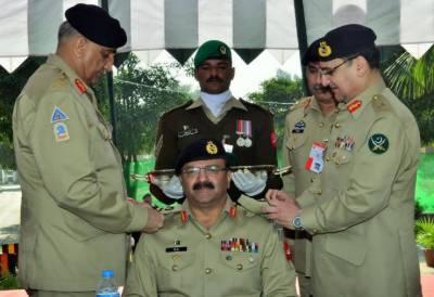 COAS Bajwa installs Lt Gen Bilal Akbar as Colonel Commandant of Mujahid Force