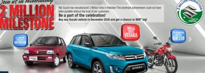 Pak-Suzuki increases price for various vehicles