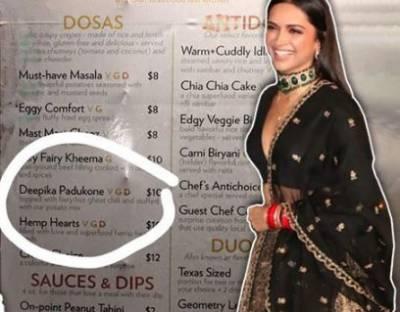 US restaurant has dosa named after Deepika Padukone
