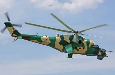Five dead as Nigerian helicopter crashes while fighting militants