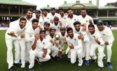 India win first ever Test series in Australia 2-1