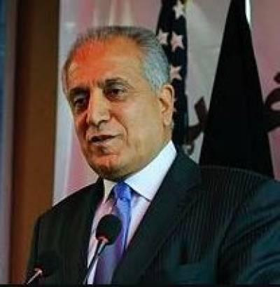 US special envoy Khalilzad departs on four-nation tour for Afghan peace efforts