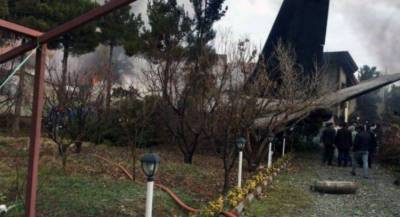 At least 15 dead as Iranian air force cargo plane crashes near Tehran