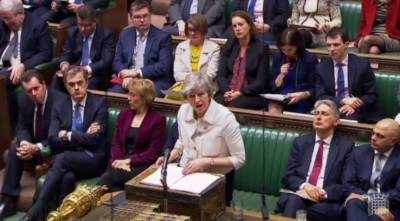 UK parliament rejects PM Theresa May's Brexit deal by 230 votes