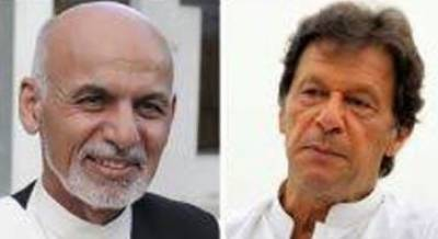 PM Imran, President Ashraf Ghani discuss Afghan peace and reconciliation process