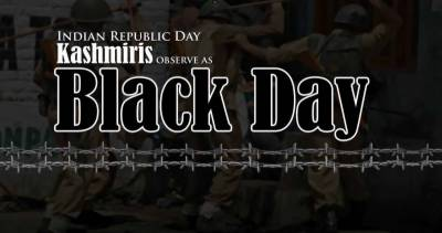 Kashmiris observe Indian Republic Day as Black Day