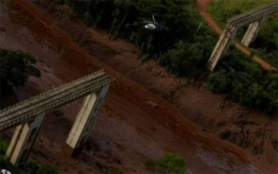 Nine dead, more than 300 missing in Brazil dam collapse