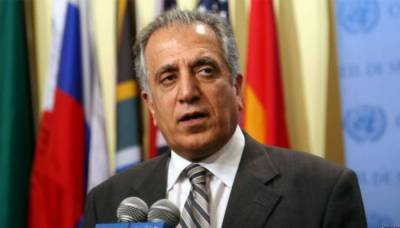 Khalilzad shares details of US-Taliban talks with Ashraf Ghani